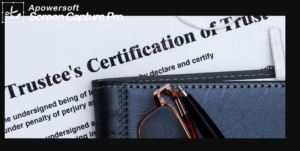 How to make a certificate of trust