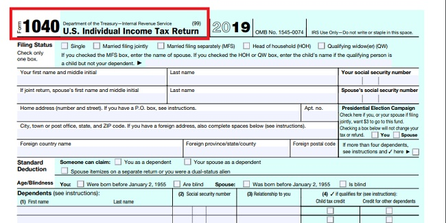 Process to file taxes • How to do it