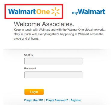 walmart one login for non working