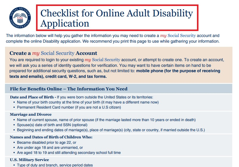How to apply for disability in Virginia?