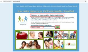 How to apply for welfare in california