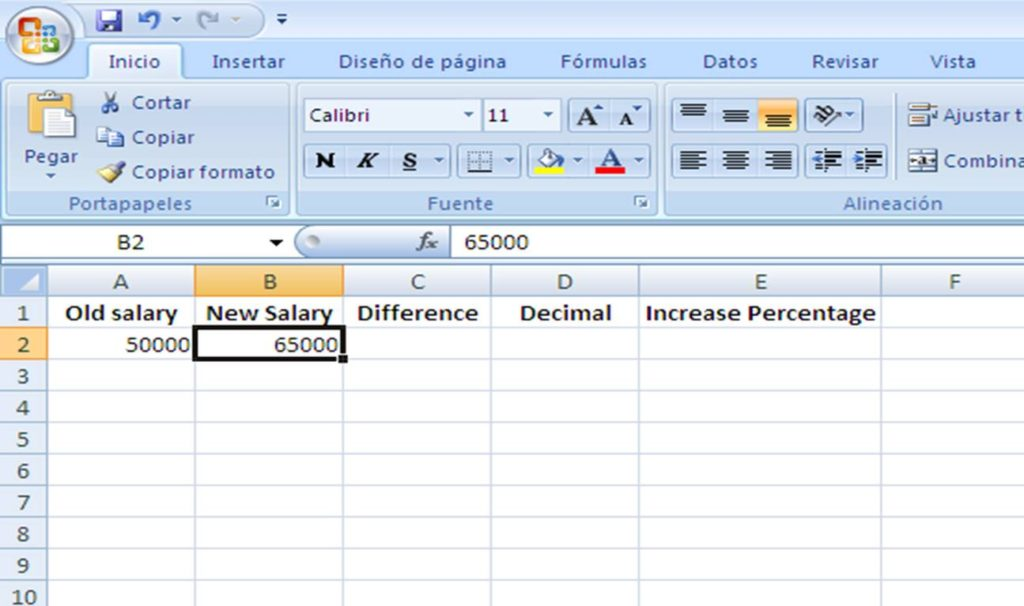 Easy steps to calculate salary increase percentage