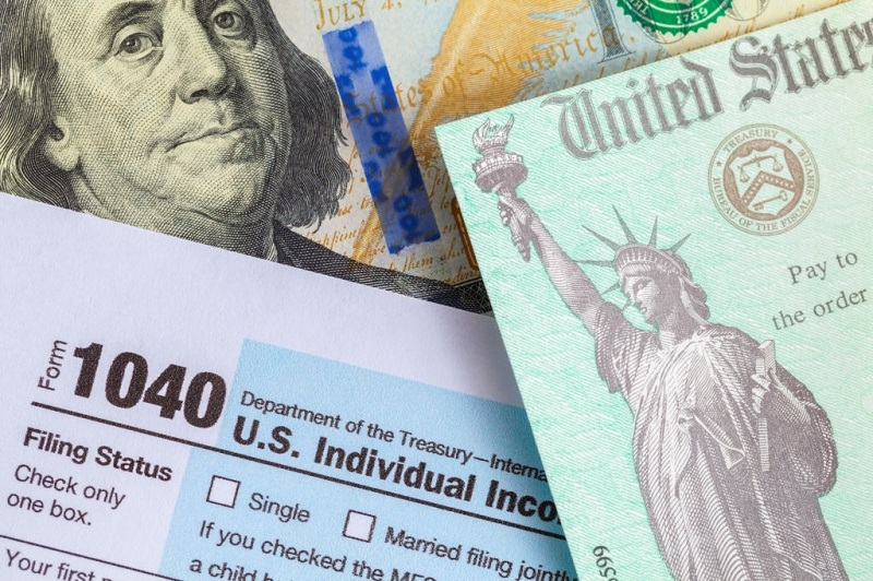 1040 Form for tax returns